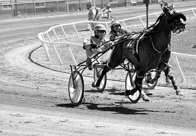 Harness Racing Photograph - Harness Racing by Todd Hostetter