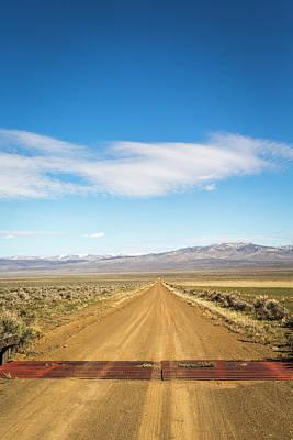 Alvord Desert Wall Art - Photograph - Harney County, Burns Ranger District by David Hanson