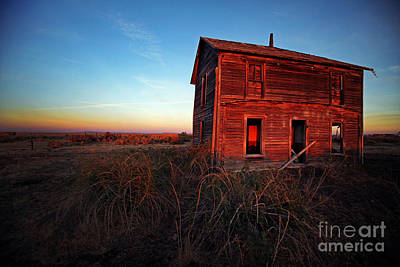 Alvord Desert Wall Art - Photograph - Harney County Oregon Homestead by Michele AnneLouise Cohen
