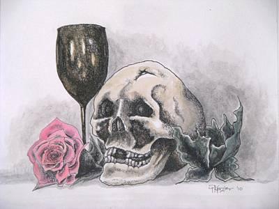 Harold And The Rose Art Print