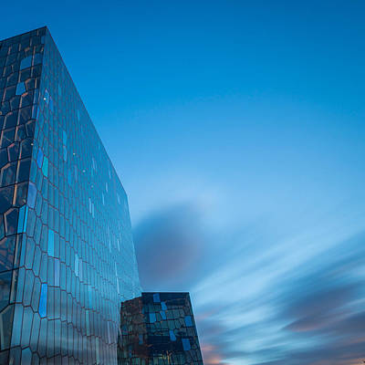 Harpa Concert And Convention Center Art Print