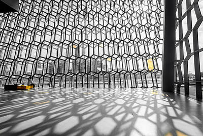 Photograph - Harpa Interior by Alexey Stiop