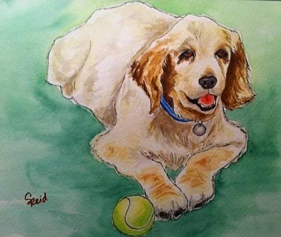 Painting - Harper by Stephanie Reid