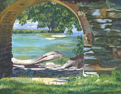 Painting - Harper's Arch by Lynne Reichhart