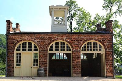 Photograph - Harpers Ferry Fire Station by R B Harper