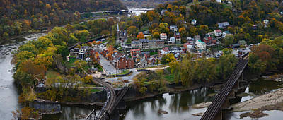 Photograph - Harpers Ferry Panoramic by Bernard Chen