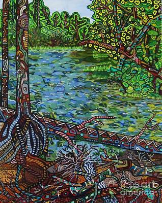 Painting - Harpeth River by Deborah Glasgow