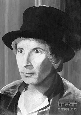 Painting - Harpo Marx by Peggy Dreher