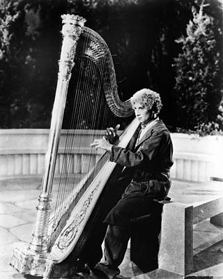 Marx Photograph - Harpo Marx by Silver Screen