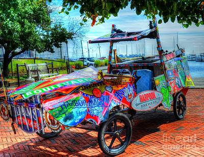 Fells Point Baltimore Maryland Photograph - Harpoon Brewery by Debbi Granruth