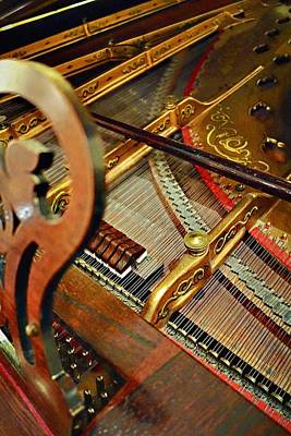 Photograph - Harpsichord  by Joan Reese