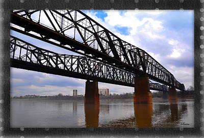 Harrahan Railroad Bridges Art Print by Reese Lewis