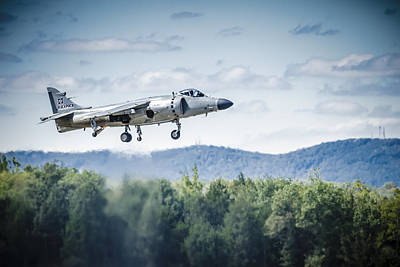 Photograph - Harrier Take Off by Bradley Clay