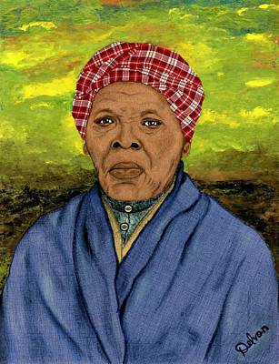 Harriet Tubman Painting - Harriet by Delvon