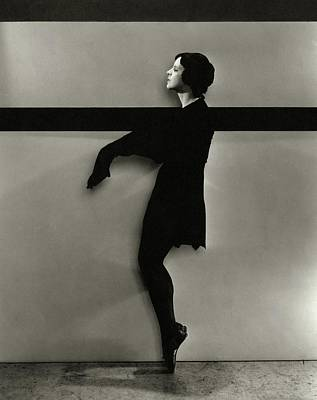 Harriet Hoctor On Pointe Art Print by Edward Steichen