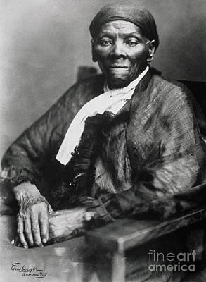 Discrimination Photograph - Harriet Tubman  by American School