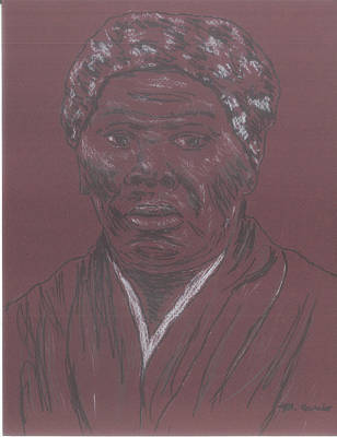 Harriet Tubman Art Print by Bob Gumbs