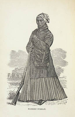 Harriet Tubman Print by British Library