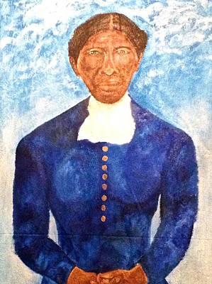 Harriet Tubman Painting - Harriet Tubman by Ginnie McKnight
