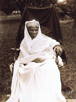 Cotton Photograph - Harriet Tubman Portrait 1911  by Unknown