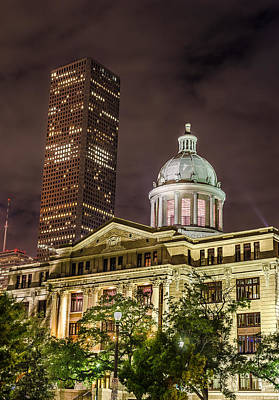 Photograph - Harris County Courthouse by David Morefield