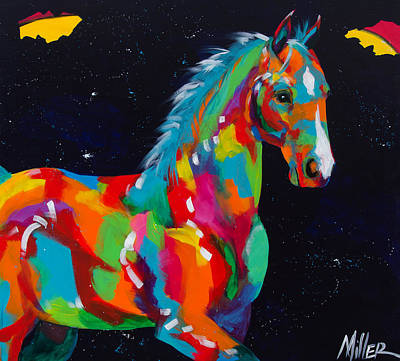 Colorado Artist Tracy Miller Painting - Harris by Tracy Miller