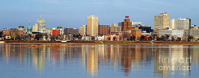Photograph - Harrisburg Reflections by Geoff Crego