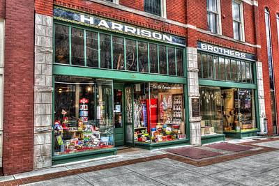 Downtown Huntsville Photograph - Harrison Brothers Hardware by Anthony Hughes
