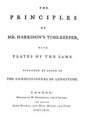 Principle Painting - Harrison Timekeeper by Granger