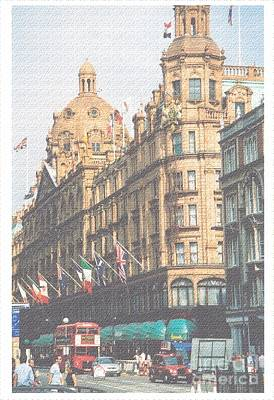 Digital Art - Harrod's Of London by Nu Art