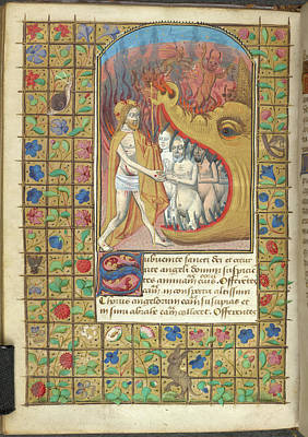 Jacques Photograph - Harrowing Of Hell by British Library