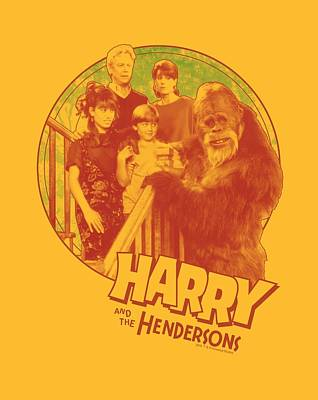 Halloween Digital Art - Harry And The Hendersons - Family Addition by Brand A