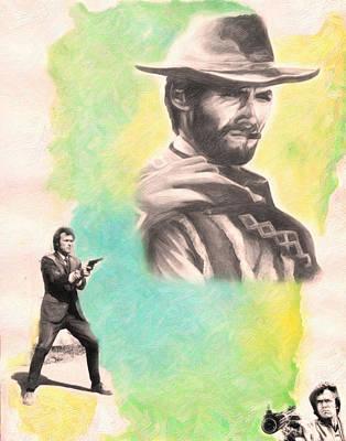 Harry Callahan 3 Art Print by MotionAge Designs