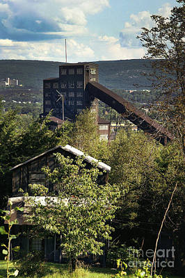 Photograph - Harry E Colliery Swoyersville Pa Summer 1994 by Arthur Miller