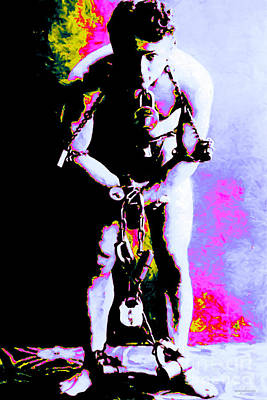 Harry Houdini - 20130208 Art Print