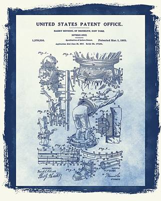 Harry Houdini's Patent Art Print by Dan Sproul