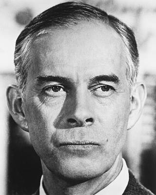 Morgan Photograph - Harry Morgan by Silver Screen
