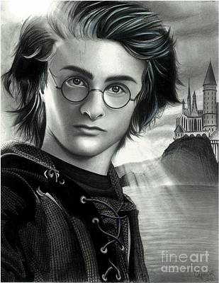 Harry Potter And The Goblet Of Fire Art Print by Crystal Rosene