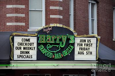 Photograph - Harry's Bar And Grille by John Black