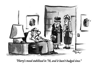 Harry's Mood Stabilized In '78 Art Print by Lee Lorenz