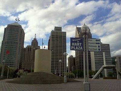 Photograph - Hart Plaza by Crystal Hubbard