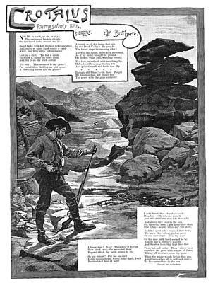Harte Crotalus, 1887 Art Print by Granger