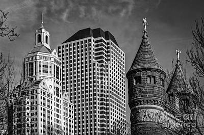 Photograph - Hartford  Architectural Variations by Phil Cardamone