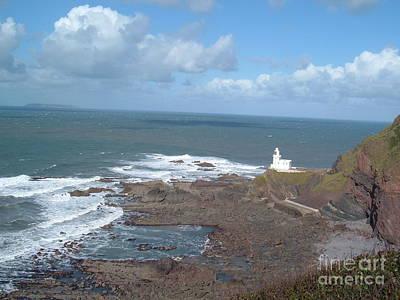 Photograph - Hartland Point Lighthouse by Richard Brookes