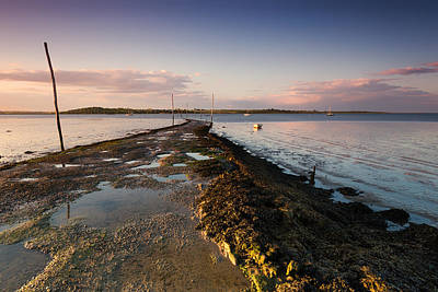 Sheppey Photograph - Harty Ferry by Ian Hufton