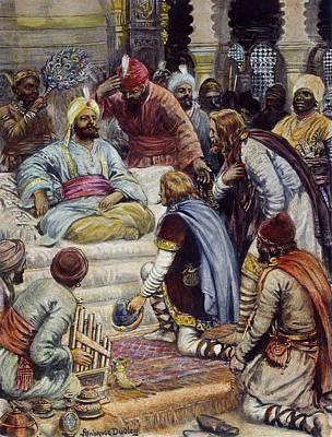 Baghdad Drawing - Harun Ar-rashid (763?-808) by Granger