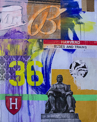 Harvard Mixed Media - Harvard 1 by Damian Barneschi