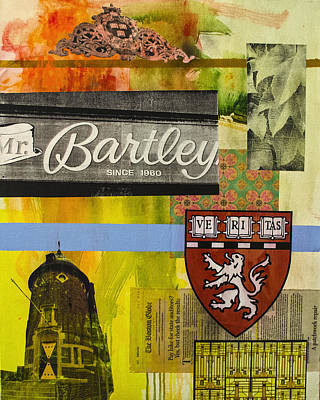 Harvard Mixed Media - Harvard 2 by Damian Barneschi