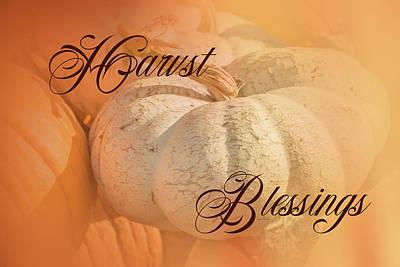 Gratitude Painting - Harvest Blessings II by Ramona Murdock