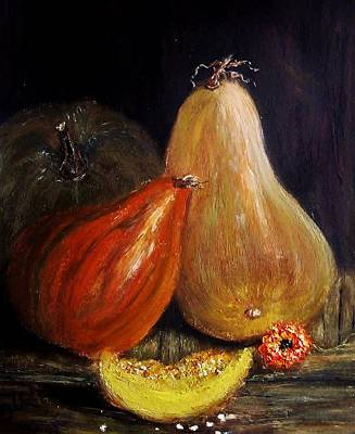 Art Print featuring the painting Harvest... by Cristina Mihailescu